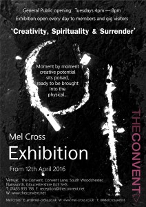 Mel Cross Exhibition - The Convent