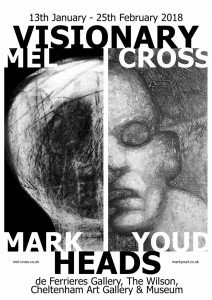 Visionary Heads Exhibition - Mel Cross & Mark Youd