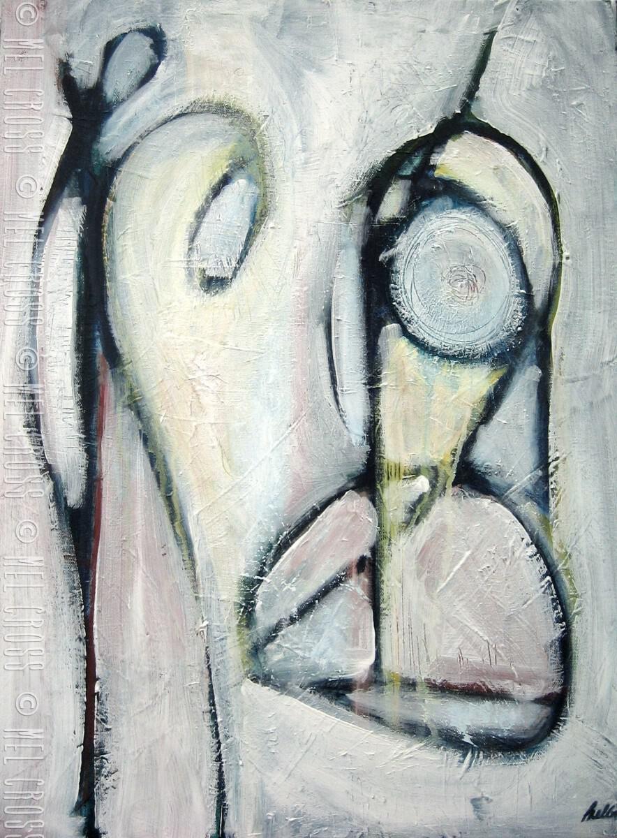 'Waiting for the light' - Mel Cross