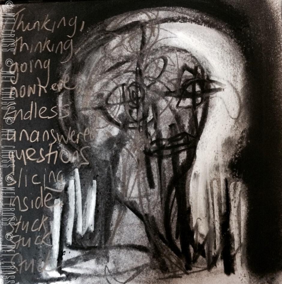 'Stuck' - Mel Cross - Art